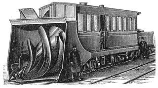 Snowplough Train From America