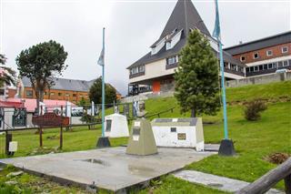 Eva Peron Statue In Ushuaia