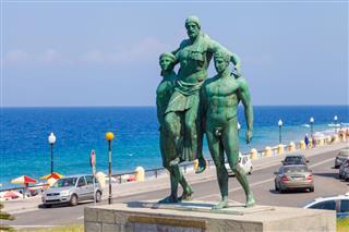 Diagoras Family Monument