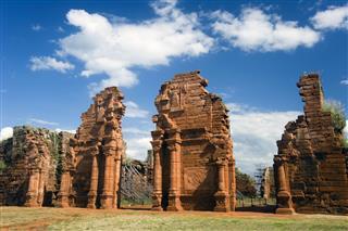 San Ignacio Ruins In Argentina