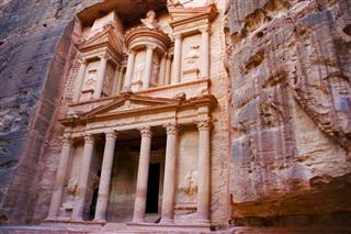 The Khazneh Petra