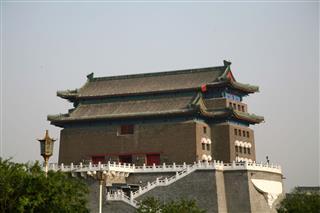 Zhengyangmen Gate In Beijing