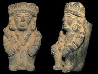 Old Aztec Statue