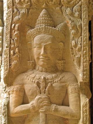 Angkor Stone Carving