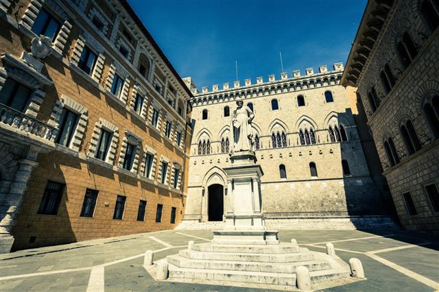Palazzo Salimbeni In Siena Italy