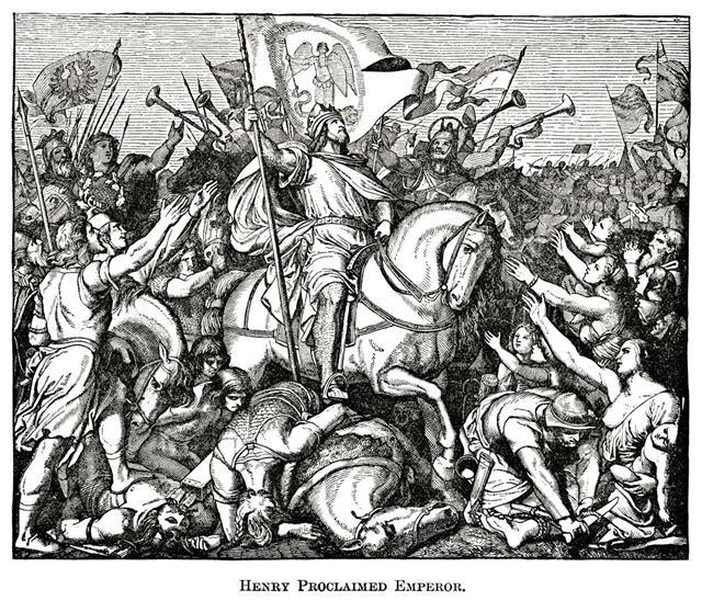 Henry Proclaimed Emperor