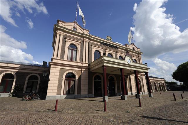 Railway Museum In Utrecht