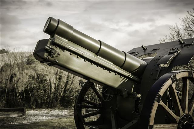 World War One Gun