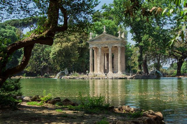 Temple Of Esculapio