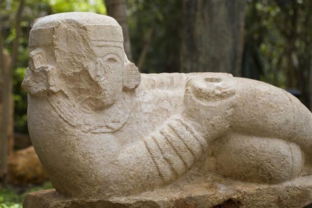 Mayan Statue