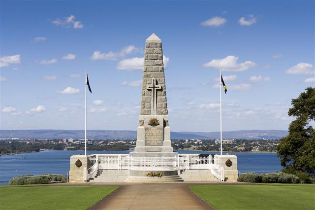Kings Park War Memorial In Perth