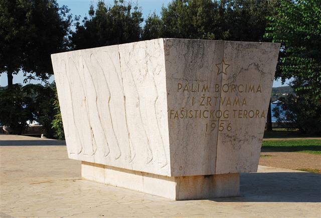 War Monument In Rovinj