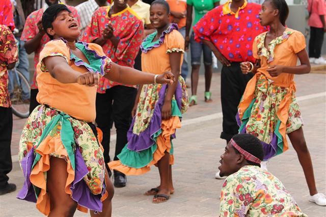 Jamaican Street Performer