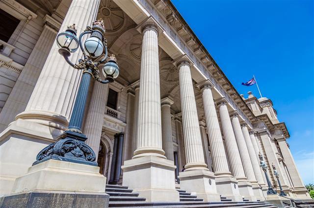 Parliament Of Victoria Melbourne Australia