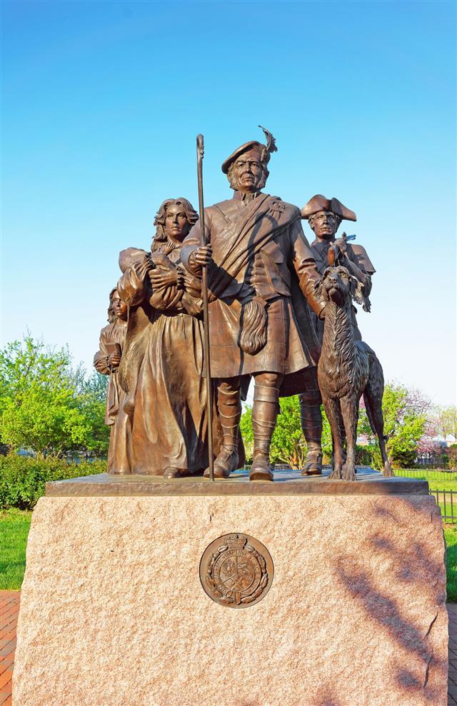 Monument Of Scottish Immigrants