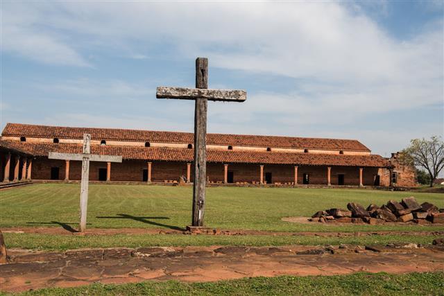 San Cosme And Damian Jesuita Ruins
