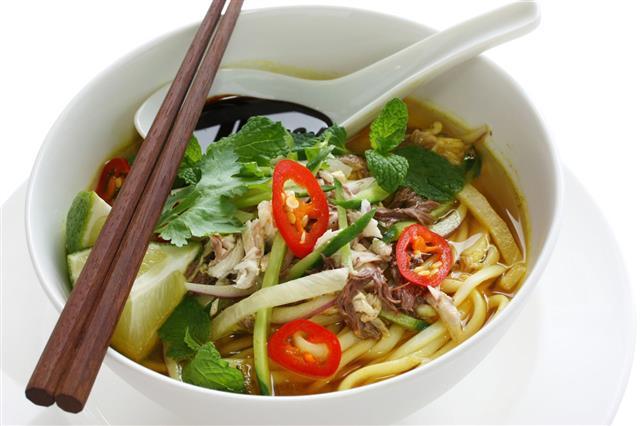 Penang Assam Laksa Malaysian Food