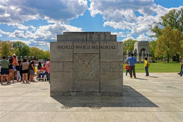 National World War Ii Memorial Washington Dc
