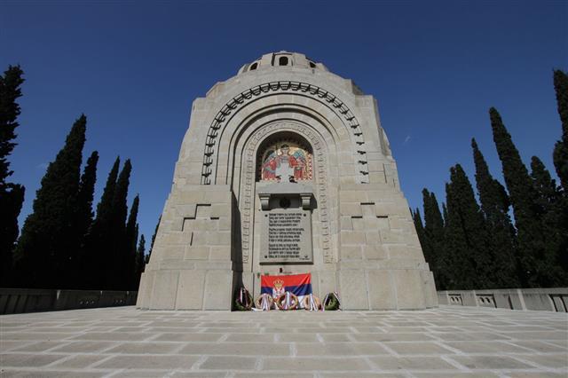 Ww1 Cemetery In Thessaloniki
