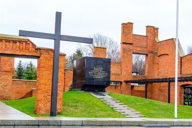 Mausoleum And Museum In Lodz Radogoszcz