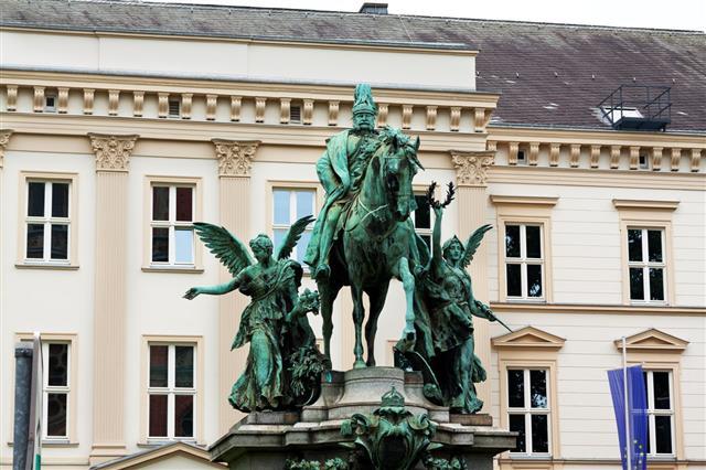 Equestrian Monumant Of Emperor Wihelm I