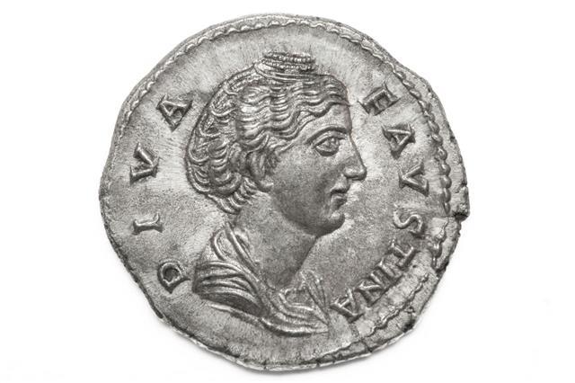 Diva Faustina Roman Coin