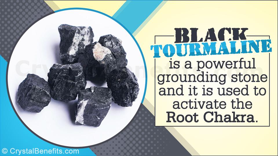 Black Tourmaline Gemstone