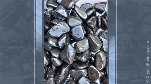 Hematite mind stone