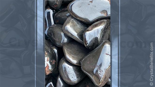 Hematite balancing stone