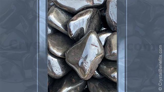 Hematite mineral stone