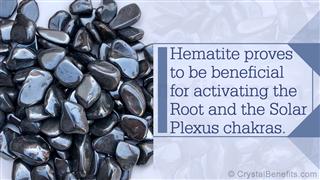 Hematite healing stone