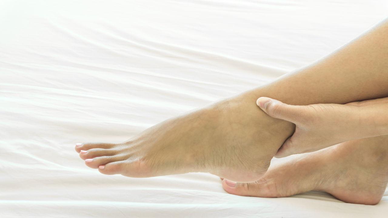 Swollen Ankles in Elderly